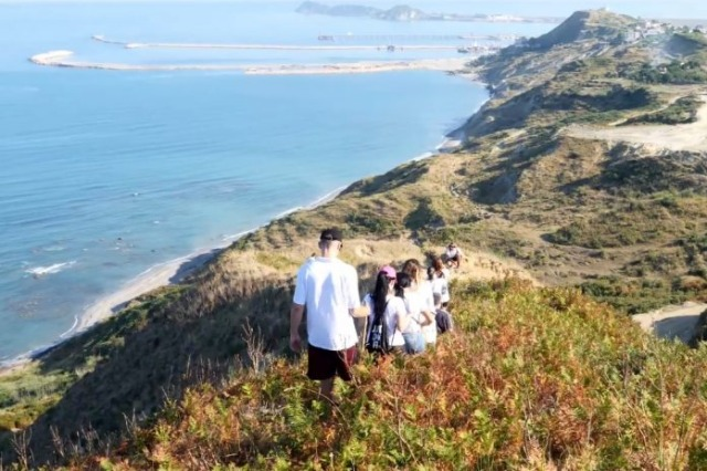 Les jeunes font la promotion des sentiers naturels Currila-Porto Romano-Military Marina
