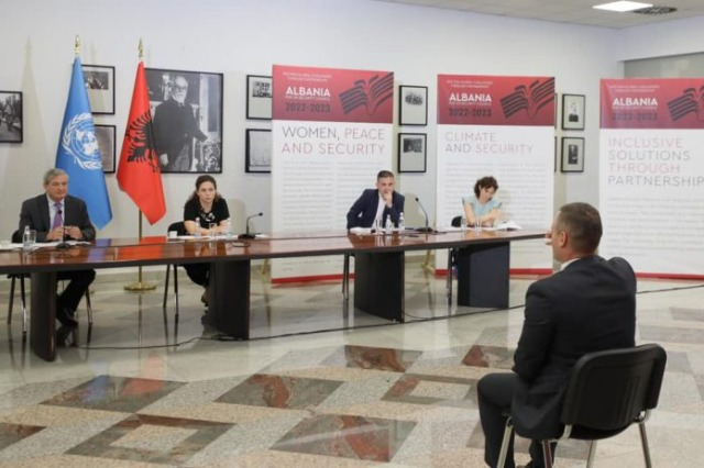 Candidates begun interview for representing Albania at the Security Council of UN