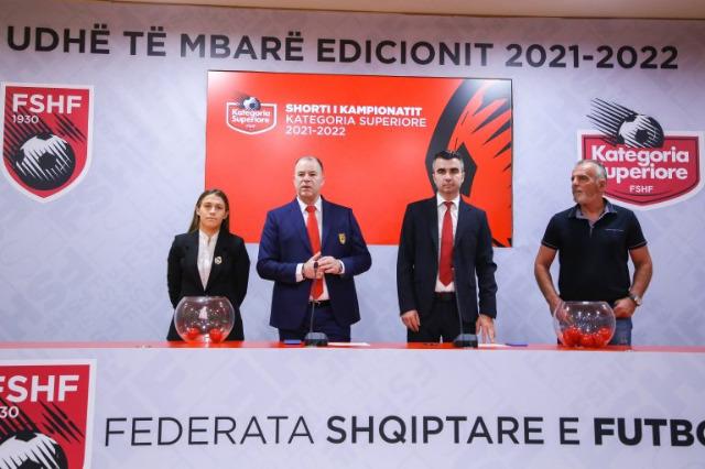 """Üstün Kategori 2021/22, kura """"Air Albania"""" stadında çekildi"""