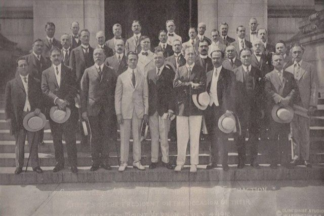 When Fan S. Noli met U.S President Wilson on the 4th of July, 1918