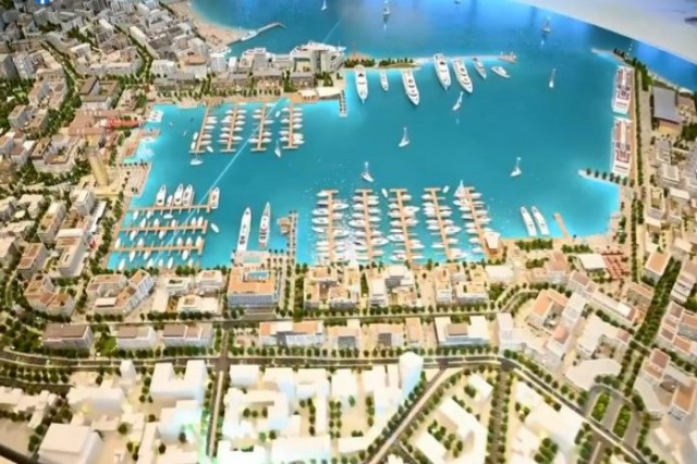 Pm Rama shares images of the completed model of the port of Durrës