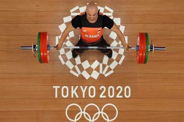 '' Tokyo 2020 ''  / Erkand Qerimaj B kategorisinde birinci ve genel sıralamada 9. yerde sıralandı