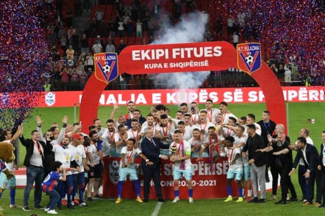 Der Fußballklub Vllaznia Shkodra geht in Privathänden