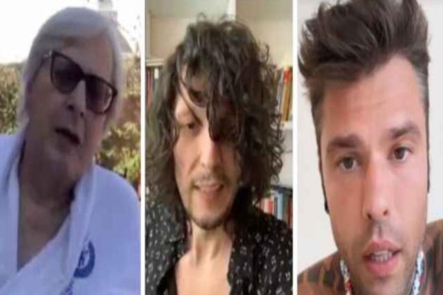 """Sgarbi vs Ermal Meta """"Torna in Albania e vedi regole""""/ """"Fedez bugiardo e ipocrita…"""""""