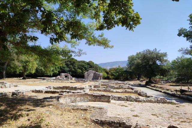 Butrint'teki Trikonka Sarayı, nadir arkeolojik ve tarihi değerler