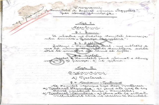 101 anni fa istituto 'Comitato Signore-donne albanesi per beneficenza'