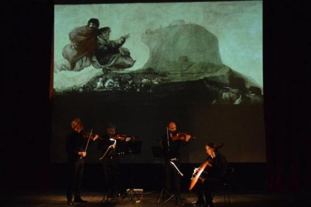 Quartetto di Cremona a Durazzo-biennale 2021