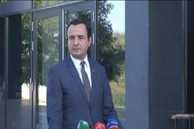 Kurti après sa rencontre avec Merkel : les initiatives régionales ne devraient pas se faire sans l'UE