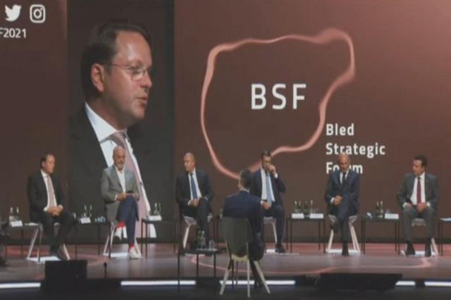 Forum stratégique de Bled / Commissaire Varhelyi : les Balkans occidentaux deviennent membres de l'UE avec l'intégration politique et économique