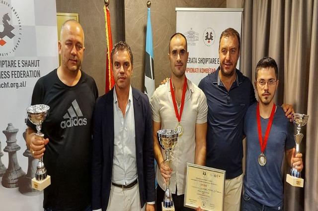Llambi Pasku campione di scacchi nel campionato nazionale