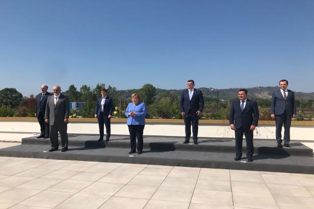 Merkel in Tirana/ German Chancellor met with the leaders of Western Balkan countries