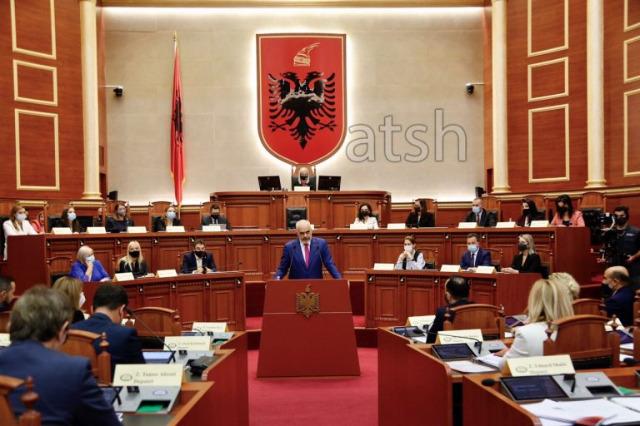 Başbakan Edi Rama, üçüncü dönem hükümet programını Meclis'te sundu