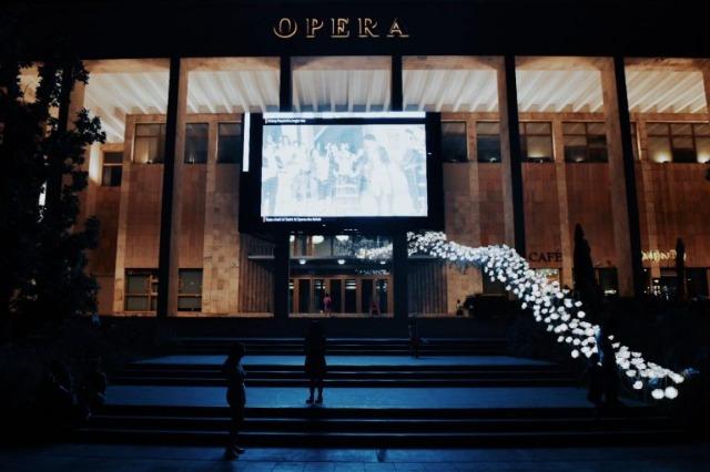 Das nationale Opern- und Balletttheater in Tirana wird morgen mit einem Gala-Konzert eröffnet