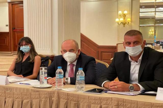 Renforcement du rôle législatif, Gjonçaj au Forum des secrétaires des Balkans occidentaux à Athènes
