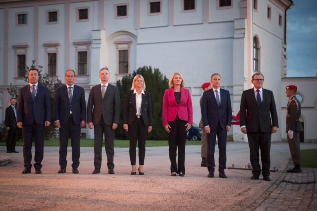 """""""Open Door Policy"""", Peleshi at the conference of Defense Ministers of the Balkan countries Format - Graz"""