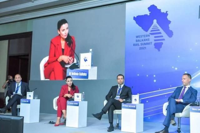Sommet ferroviaire des ministres des transports des Balkans occidentaux, Balluku : nous renforçons les capacités