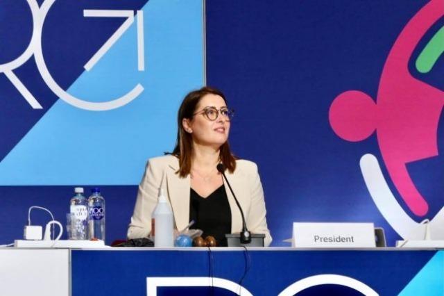 Le ministre Manastirliu préside la 71e session du Comité régional de l'OMS pour l'Europe