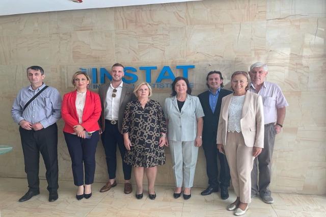 Arnavutluk - Bosna Hersek, istatistik alanında işbirliği