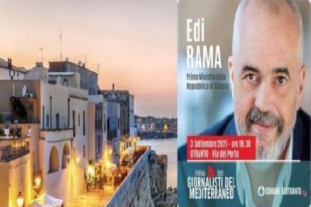 Otranto, DocuMostra 'IntegrAzione' sarà presentata al Castello a Edi Rama
