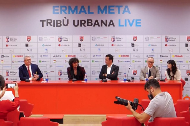"""Tomorrow the concert in """"Air Albania"""", Ermal Meta and the mayor Veliaj reveal details in the press conference"""