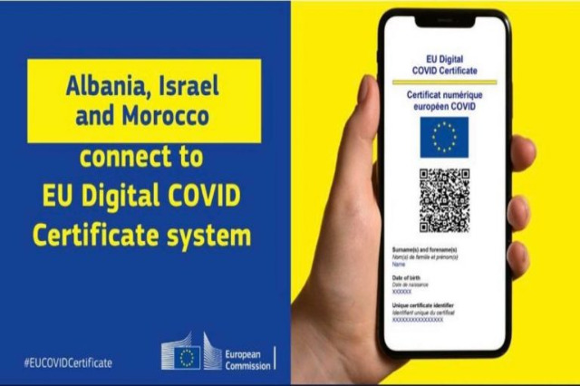 Rama : Arnavutlar dijital aşı pasaportuyla Avrupa'ya gitmekte özgür