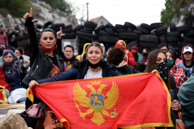 Western Balkan foreign ministers make an appeal to EU and NATO institutions to help find peaceful solutions in Montenegro