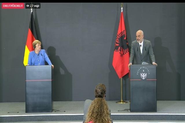 Rama: Bez Merkelove Evropa i Balkan ne bi bili ovakvi kakvi su danas!