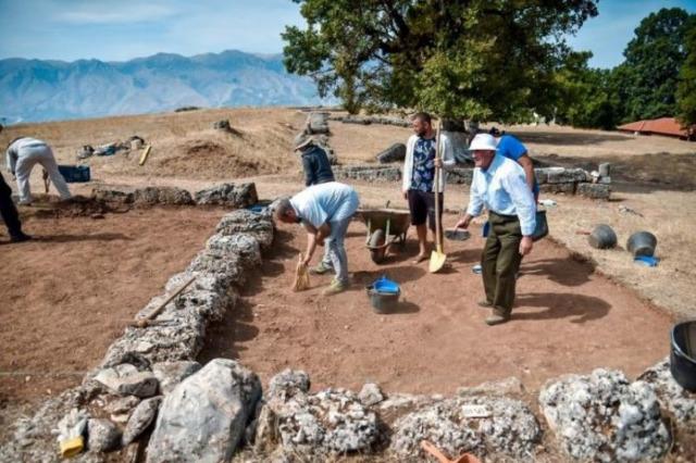 Antigone ve Palokastra'da arkeolojik kazılar yeniden başladı