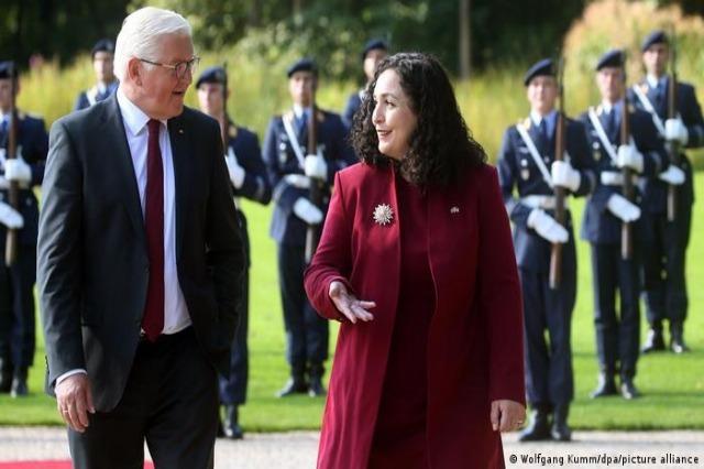 Vjosa Osmani souligne l'importance de l'Allemagne pour le Kosovo