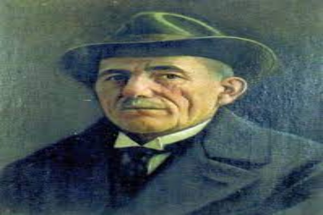 Kol Idromeno, an Albanian painter, sculptor, architect, photographer, cinematographer, composer and engineer of the XIX century