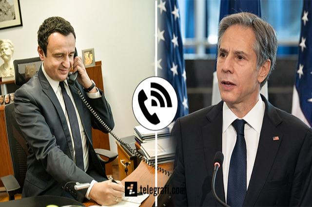 Kurti ve Blinken, Afganların barınması konusunda konuştu