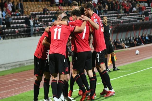Die albanische Nationalmannschaft besiegte San Marino 5 zu 0