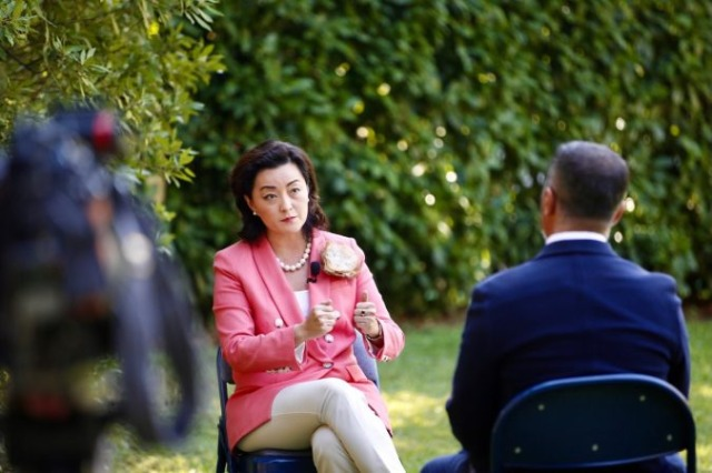 """Ambassador Yuri Kim speaks tonight on """"VOA"""" about political developments, her first message is revealed"""