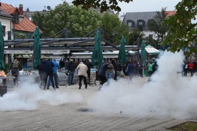 La situation au Monténégro est tendue, USA : Stop à la violence !