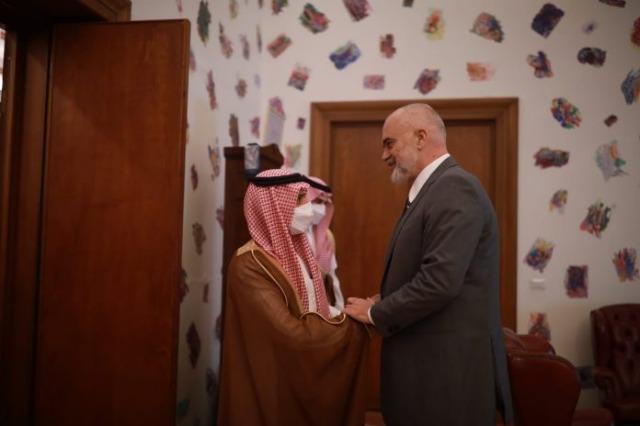 Ο ΥΠΕΞ της Σαουδικής Αραβίας εξέφρασε την υποστήριξή του για την Αλβανία στο Συμβούλιο Ασφαλείας του ΟΗΕ.