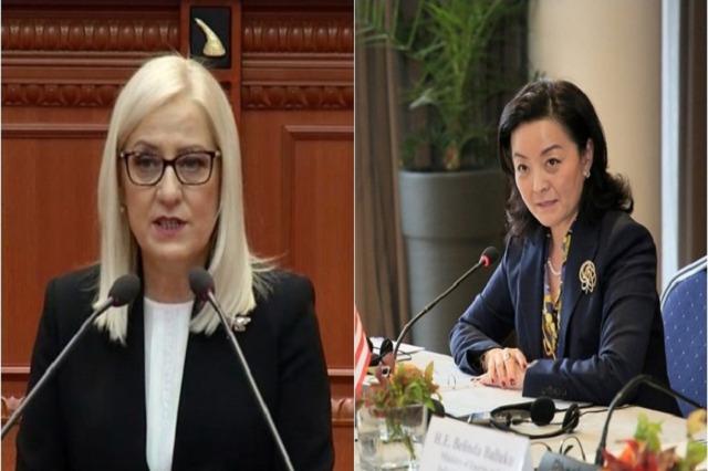 Ambasciatore Kim incontra presidente parlamento Nikolla