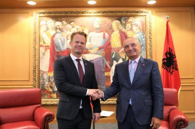 Meta-Kofod : Danemark, soutien à l'intégration européenne de l'Albanie