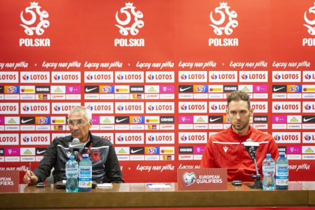 Polonya maçı arifesinde Reja ve Berisha : Herkese saygı gösterin, rakipten korkmayın