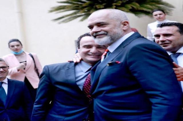 Albin Kurti sends a congratulatory message to Rama on the new government, inviting him to Kosovo