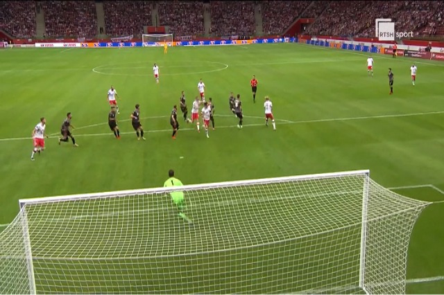 Polonya - Arnavutluk maçı 4 - 1 sonucuyla tamamlandı