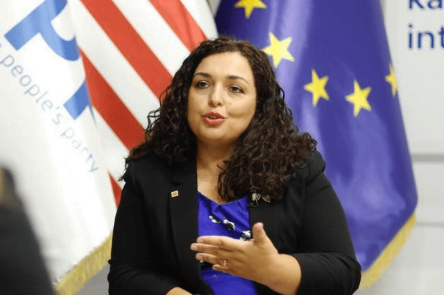 "La présidente du Kosovo Vjosa Osmani contre les ""Open Balkans"""