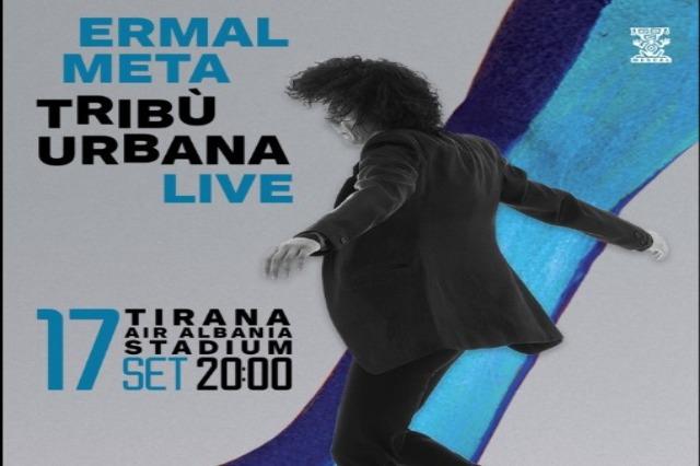"Ermal Meta, concert à ""Air Albania"" le 17 septembre"