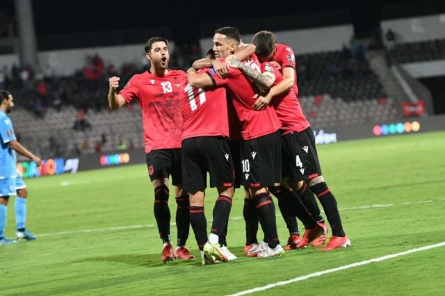 """Albania, """"manita"""" contro San Marino e secondo posto nel girone"""