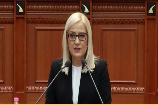 Lindita Nikolla ist die neue Parlamentspräsidentin in Albanien