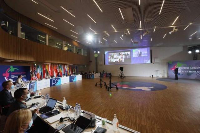 Arnavutluk, DSÖ Avrupa Bölge Komitesi başkanlığını devraldı / Rama : Pandemi yönetiminin değerlendirilmesi