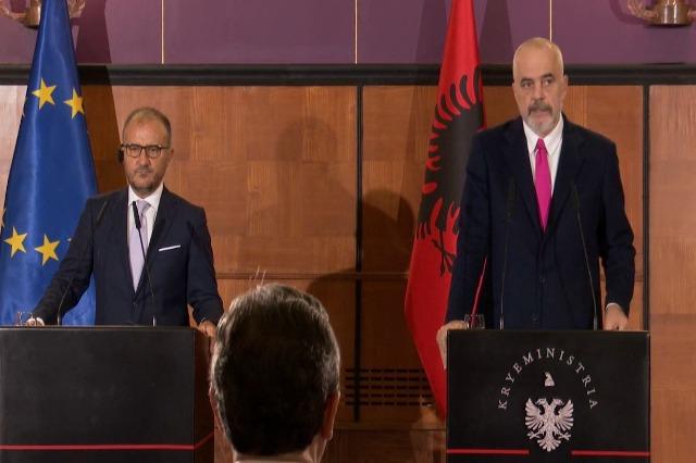 Soreca : l'Albanie a rempli les conditions pour tenir la Conférence Intergouvernementale