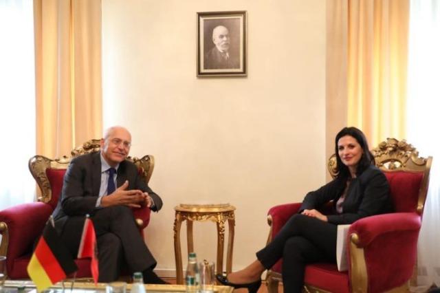 Albania's challenges towards European integration, Gjonaj meets Zingraf