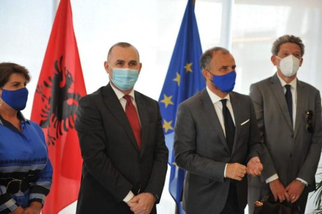 Consolidation of Justice Reform / Minister Manja meets with EU Ambassadors