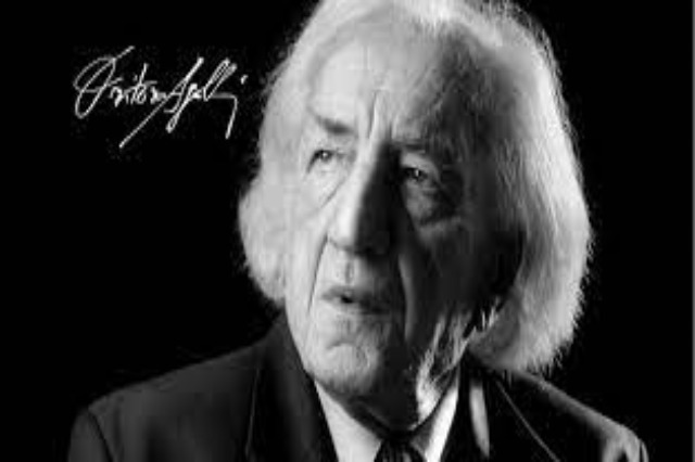Today is the 90th birth anniversary of the Albanian prominent poet, writer, politician, Dritëro Agolli