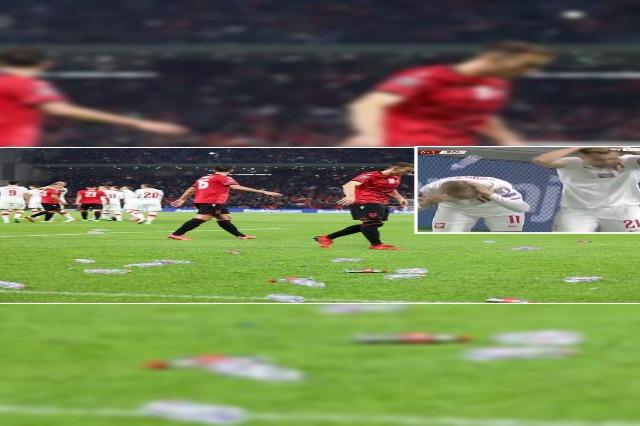 L'incidente durante la partita Albania-Polonia mette a rischio la grande finale